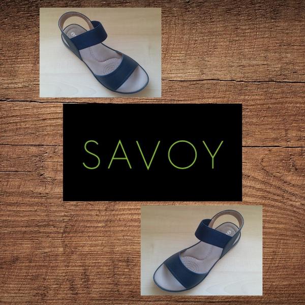 Savoy lqk 2151 navy sandal picture