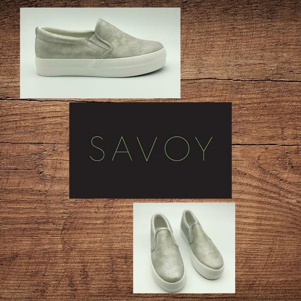 Savoy silver slip on lchsh 01 picture