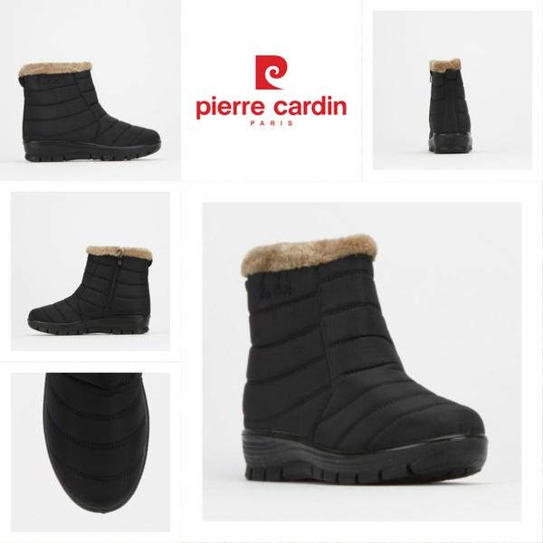 Pierre cardin pcl0 1154 black faux fur boor picture