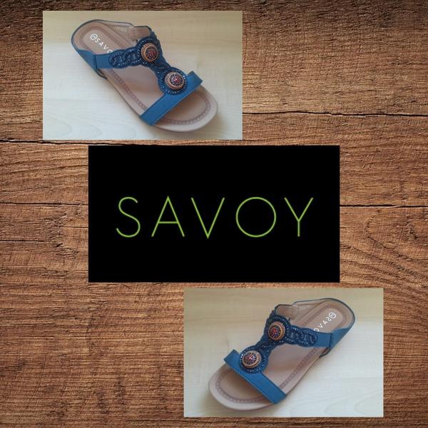 Savoy lqk 5835 navy sandal picture