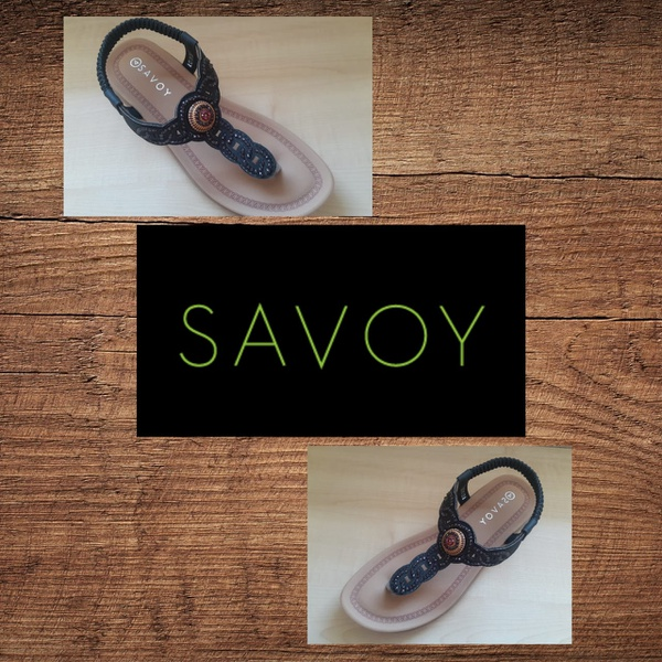 Savoy lqk 5838 black sandal picture