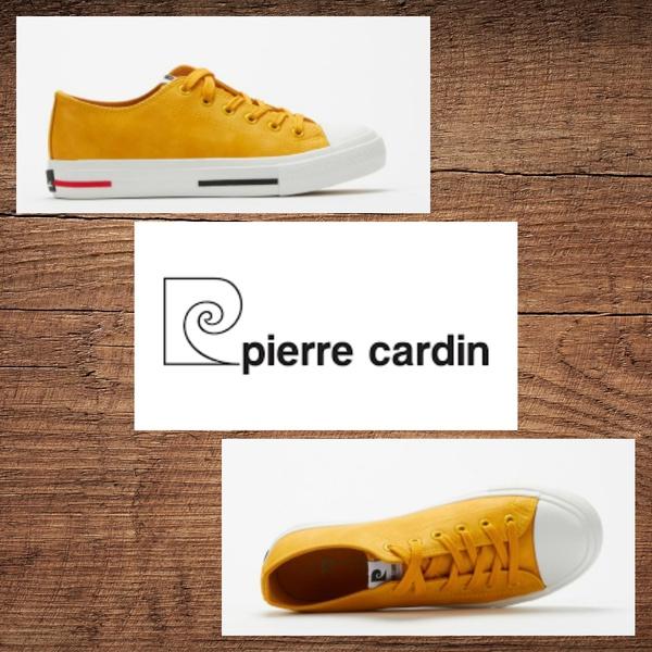 Pierre cardin 1014 mustard sneaker picture