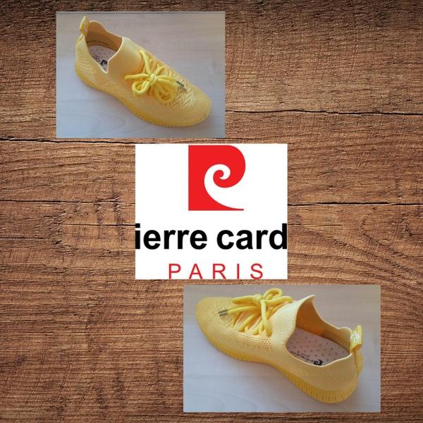Pierre cardin 1517 yellow sneaker picture
