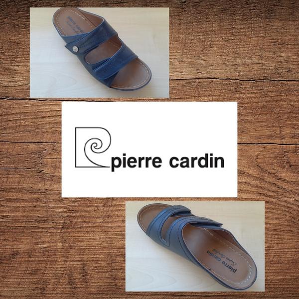 Pierre cardin 714 navy sandal picture