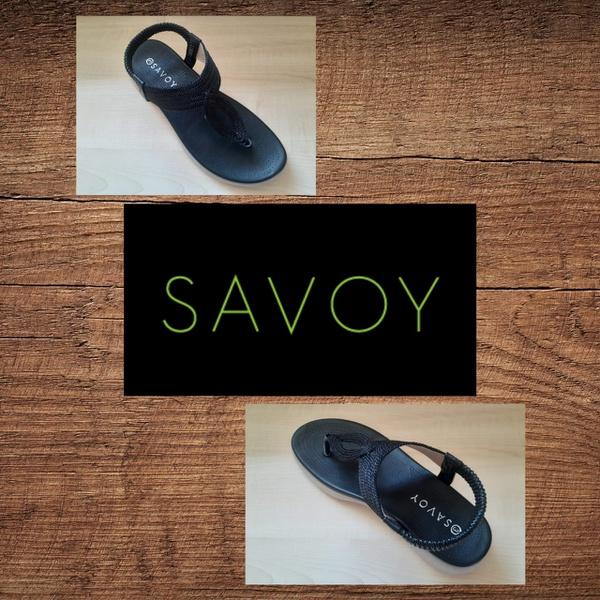 Savoy lqk 8826 black sandal picture