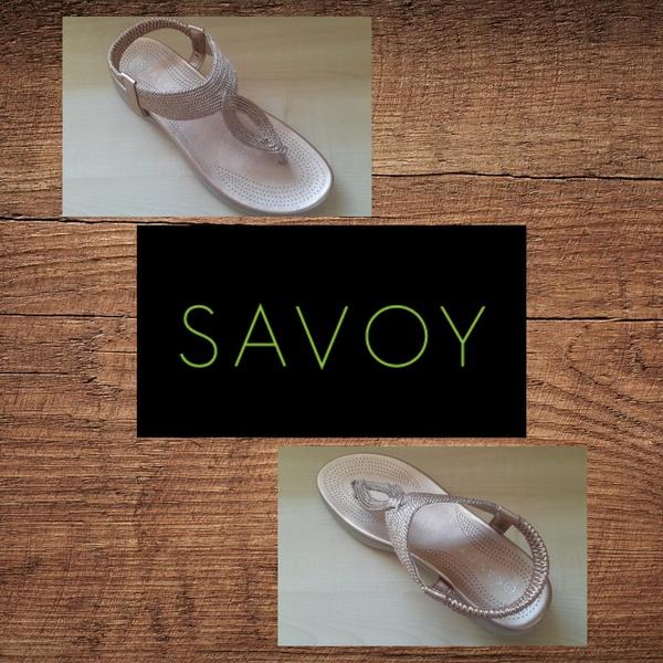 Savoy lqk 8826 rose gold sandal picture