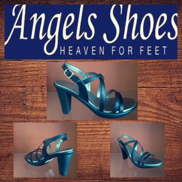 Angels pru 1 black heel picture