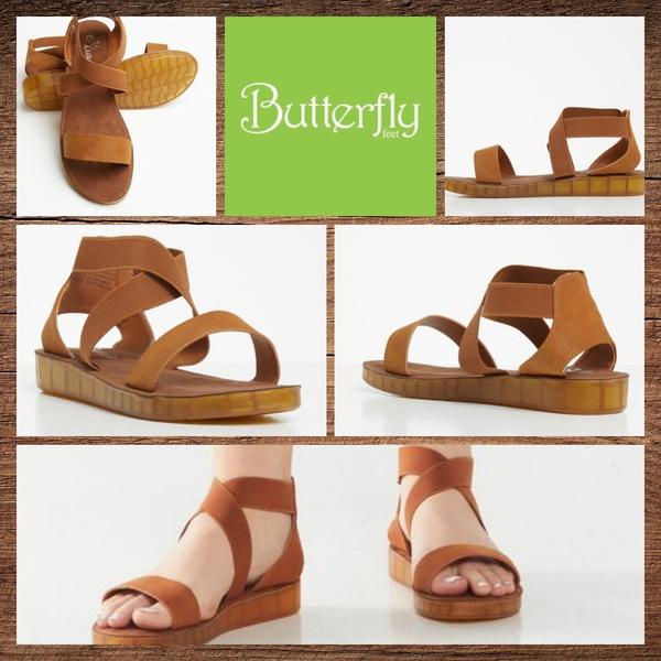 Butterfly feet edan 2 tan picture