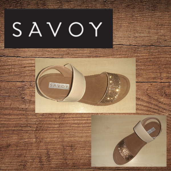 Savoy ly3168 gold sandal picture