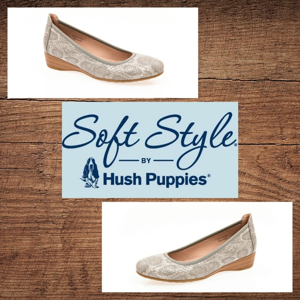 Soft style risha taupe snake wedge picture
