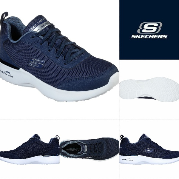Skechers air dynamight fast brake  navy 12947 picture