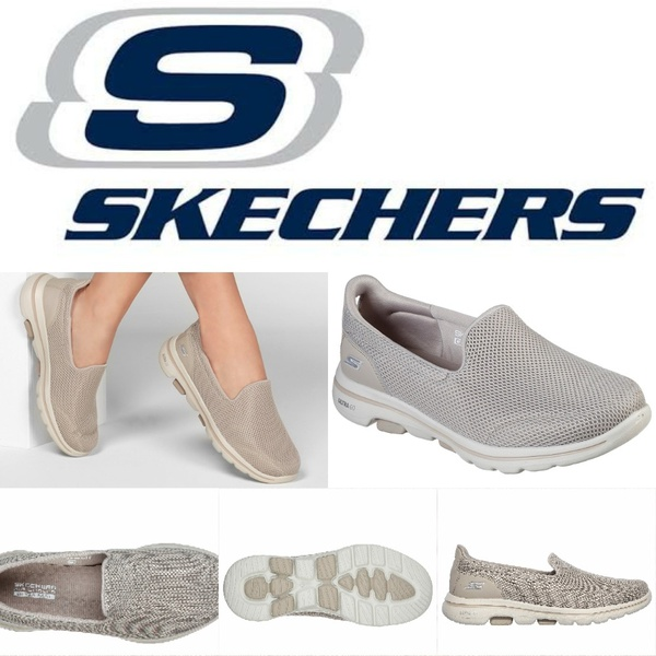 Skechers go walk 5 taupe 15901 picture