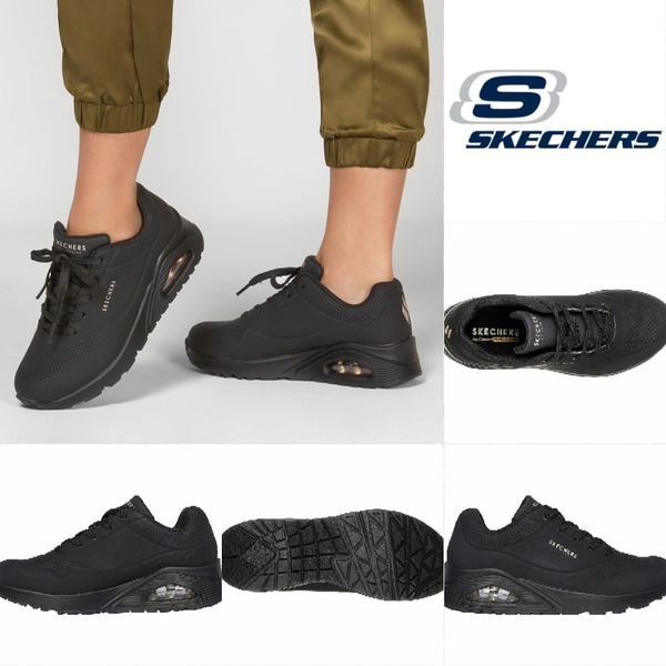Skechers uno stand on air black 73690 picture