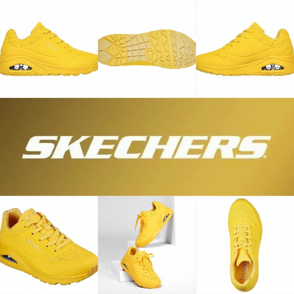 Skechers stand on air uno 73690 yellow picture