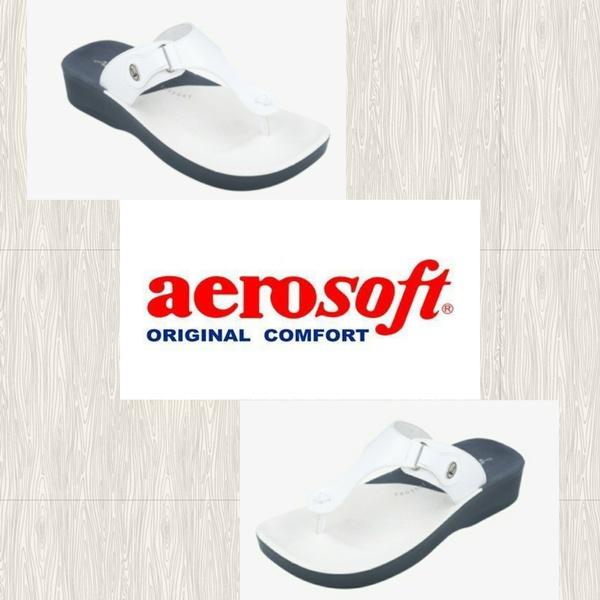 Aerosoft white 1  fw8163 sandal picture