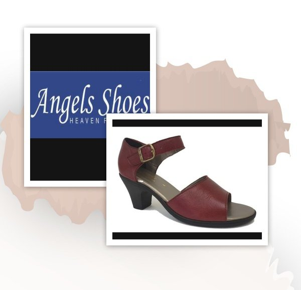 Angels paris 500 ruby red heel picture