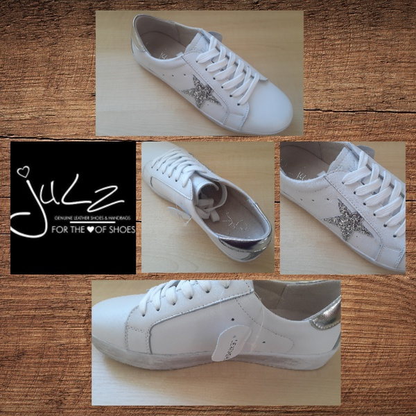 Julz camey white and grey sneaker picture