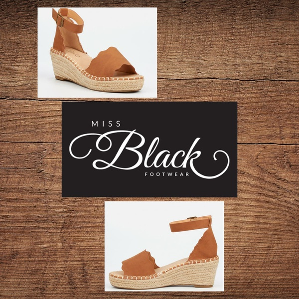 Miss black jayda 1 tan wedge picture