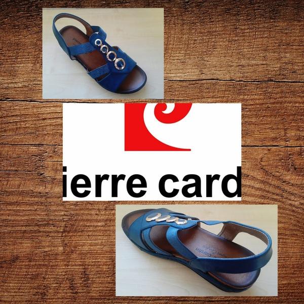 Pierre cardin 1262 navy sandal picture