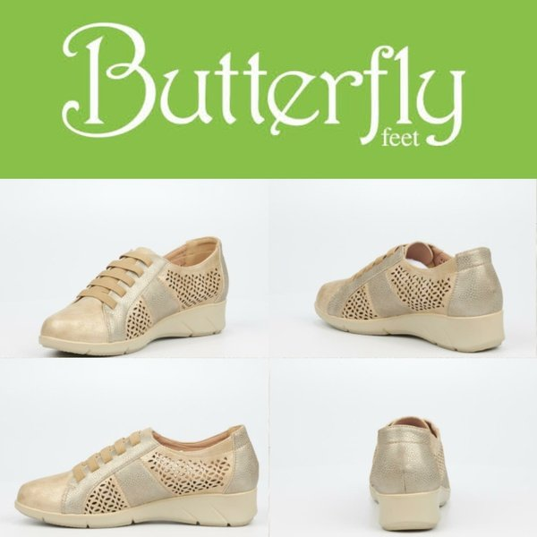 Butterfly feet fergie rose gold picture
