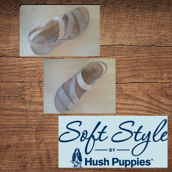 Soft style imogene taupe sandal picture