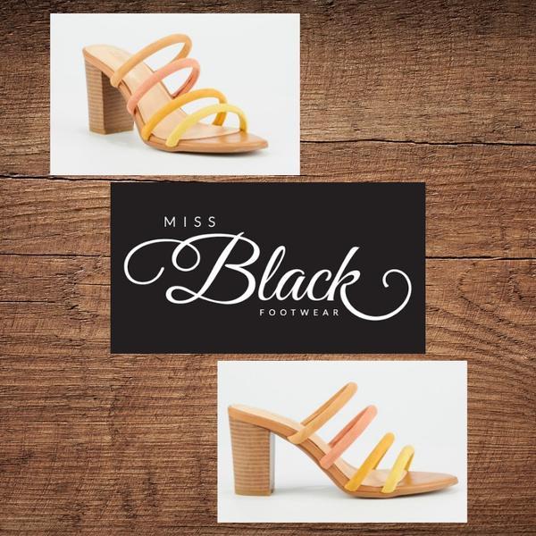 Miss black lazio 1 yellow heel picture