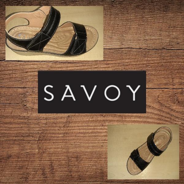 Savoy ly0913 black sandal picture