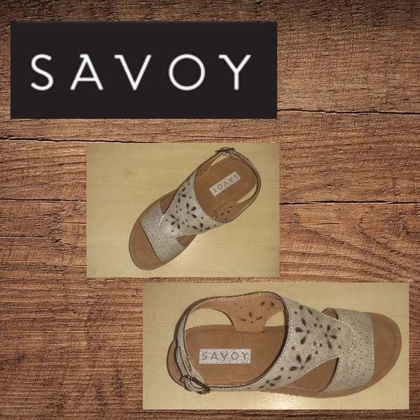 Savoy ly1615 pewter sandal picture