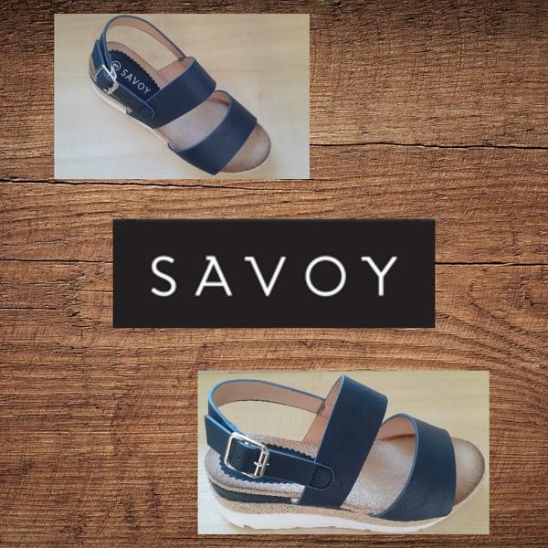 Savoy lzhn008 navy sandal picture