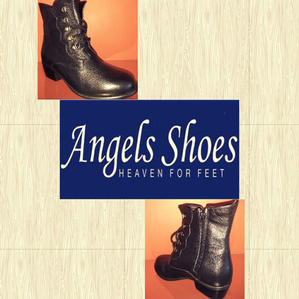 Angels milano 117 black ankle boot picture