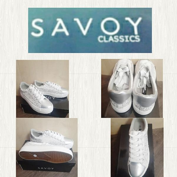 Savoy silver sneaker  lchmn03 picture