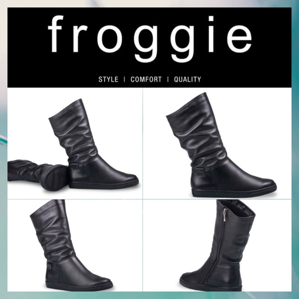 Froggie ruched flat 10970 picture