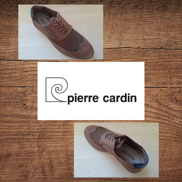 Pierre cardin 1327 tan lace up picture
