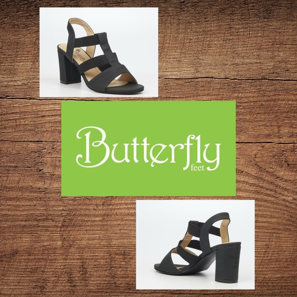 Butterfly feet valery 1 black picture