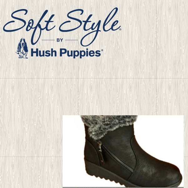 Soft style soft winta black ankle boot picture