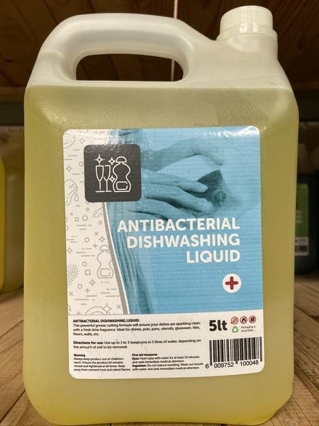 Anti-bac dishwash delux 5l picture