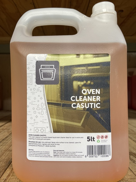 Oven cleaner caustic 5l picture
