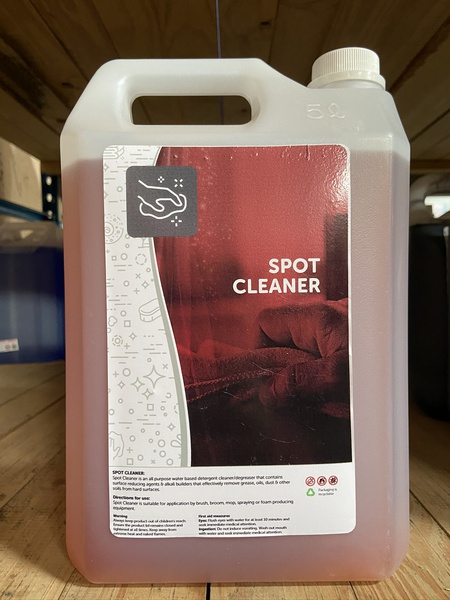 Spot cleaner / remover 5l picture