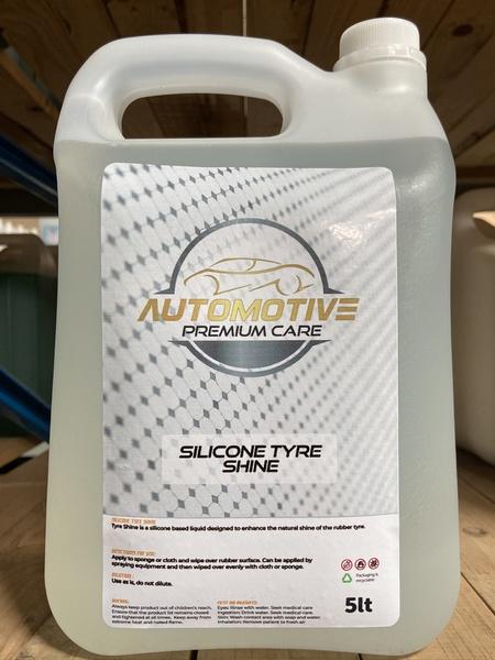 Hi gloss tyre shine silicone 5l picture