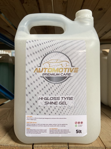 Hi gloss tyre shine gel 5l picture