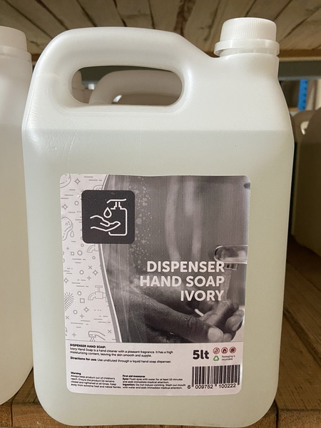 Dispenser hand soap ivory 5l picture