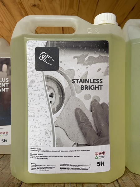 Stainless steel cleaner 5l picture