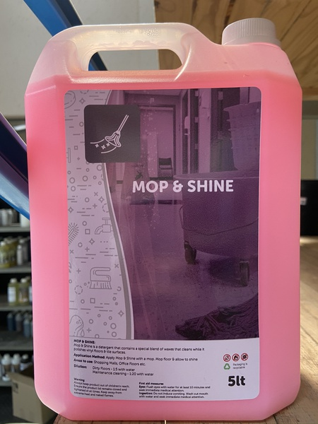 Mop and shine 5l picture