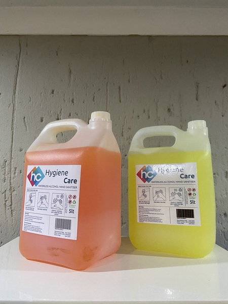 5litre gel sanitizer picture