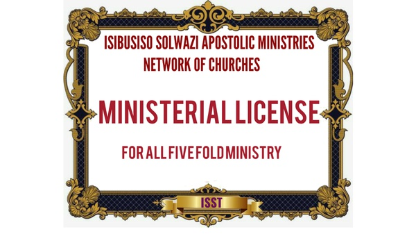 LIST OF AFFILIATIES AND MINISTERIAL LICENSES picture