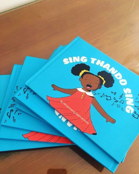 Sing thando sing (children's book) picture