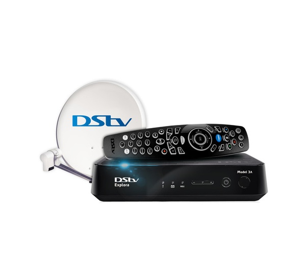 Dstv explora 3 decoder plus installation picture