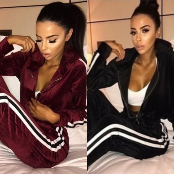 Velvet tracksuits picture