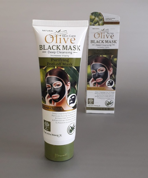 Olive black face mask 130ml picture