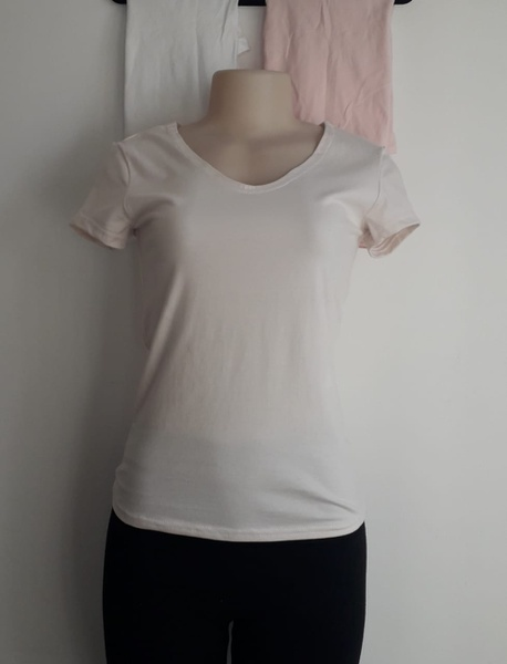Ladies cotton t-shirt picture